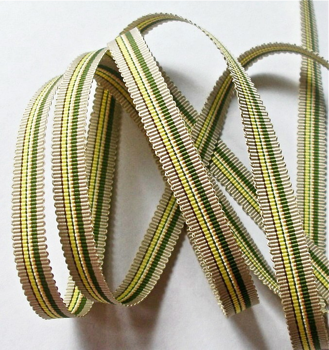 "38AC784 3/8"" KHAKI/OLIVE/YELLOW (5 YDS)"