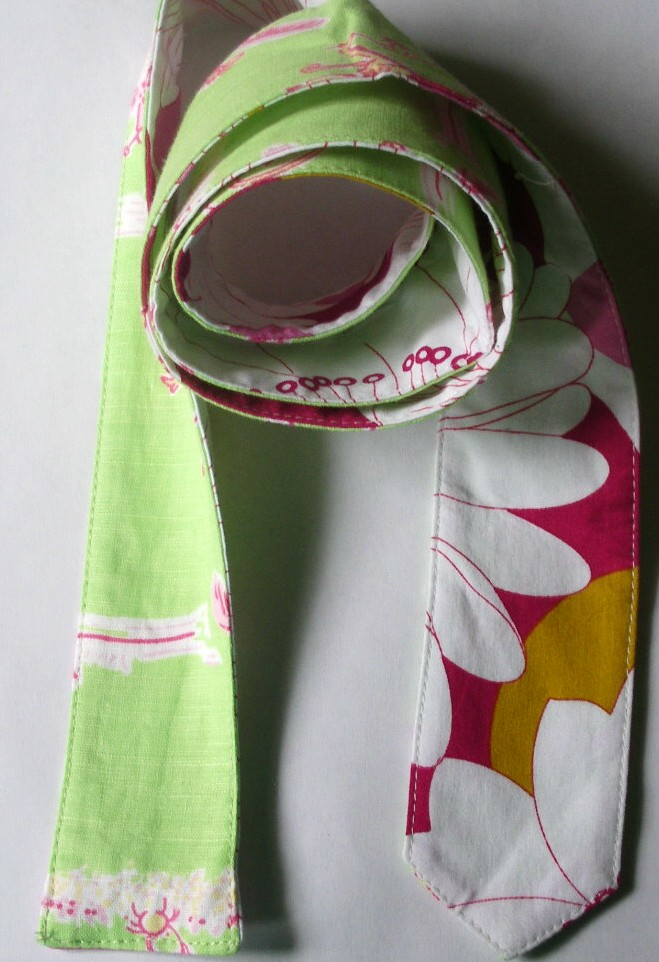 "****BELT#5 1 3/4"" + LIME/H.PINK W/PINK/white FLOWER SIZE 39,41,4"