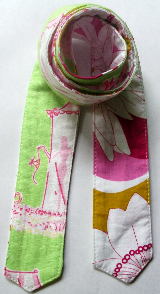 "****BELT SLIDE #5 -1 3/4"" LIME/PINK MONKEYS W WHITE/ FLOWER"