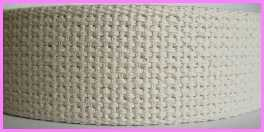 "CW7 1 1/4"" (3 YDS) Natural 100% Cotton Webbing"
