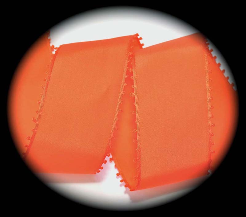 "PICOT EDGE 2"" ORANGE DELIGHT (3 YDS)"