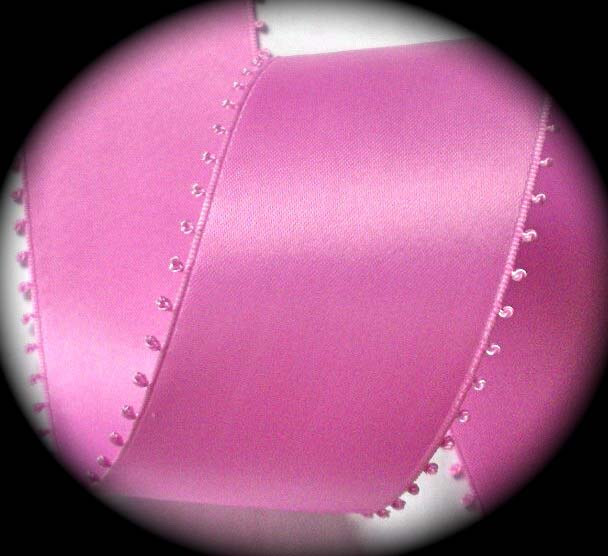 "PICOT - 2"" TIP TO TIP -PINK SWISS 3 YDS"
