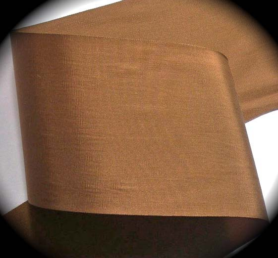 "TAFFETTA1446  3"" SABLE BROWN -3 YDS 100% RAYON"