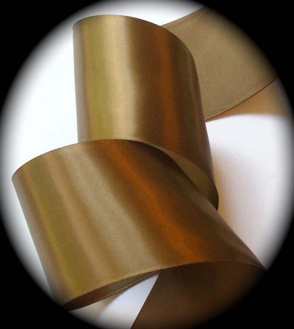 "SATIN1 2 1/4"" Sable Brown Satin (3 yards)"