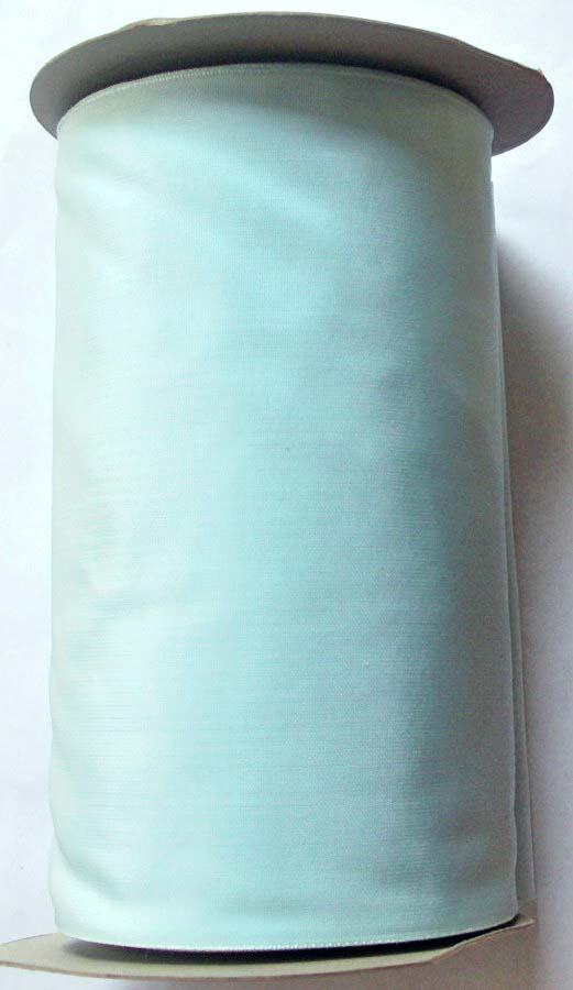 "TAFFETA - 6 1/4"" WIDE BABY BLUE -RAYON BLEND (PER YD) SWITZERLAN"