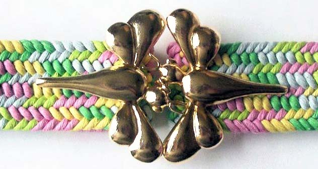 ***DRAGON FLY BUCKLE ONLY -GOLD (10 PCS)