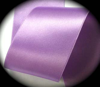 "sat59 3"" (3 YDS) ORCHID DOUBLE Faced Satin SWISS"