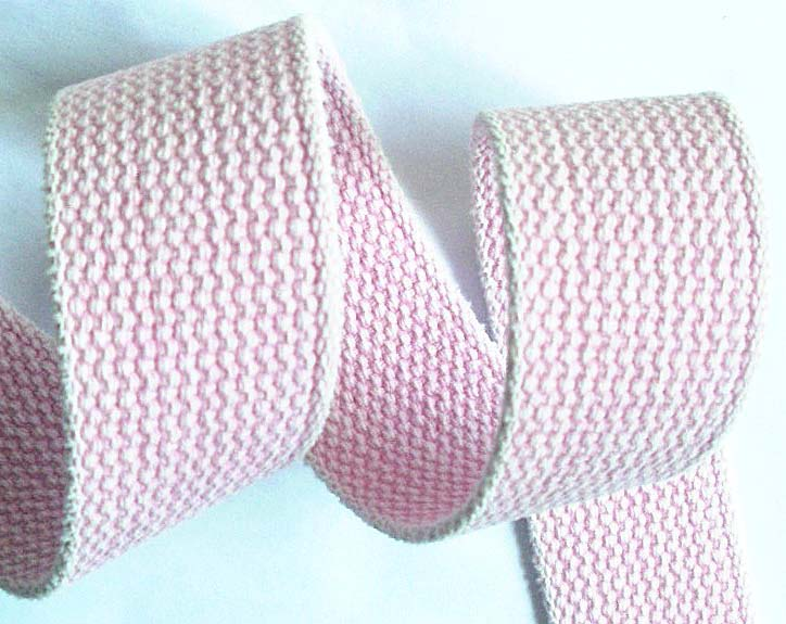 "CWWC6 1 1/2"" LT. PINK (3 yds)CHAMBRAY 100% COTTON WEBBING"